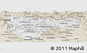 Classic Style Panoramic Map of Vientiane 2