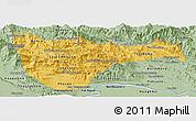 Savanna Style Panoramic Map of Vientiane 2