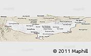Classic Style Panoramic Map of Vientiane (Munic.)