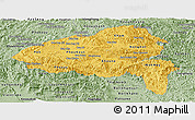 Savanna Style Panoramic Map of Xiangkhouang