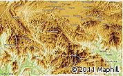 Physical 3D Map of Phaxay