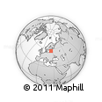 Outline Map of Latvia