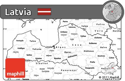 Free blank simple map of latvia blank simple map of latvia publicscrutiny Gallery