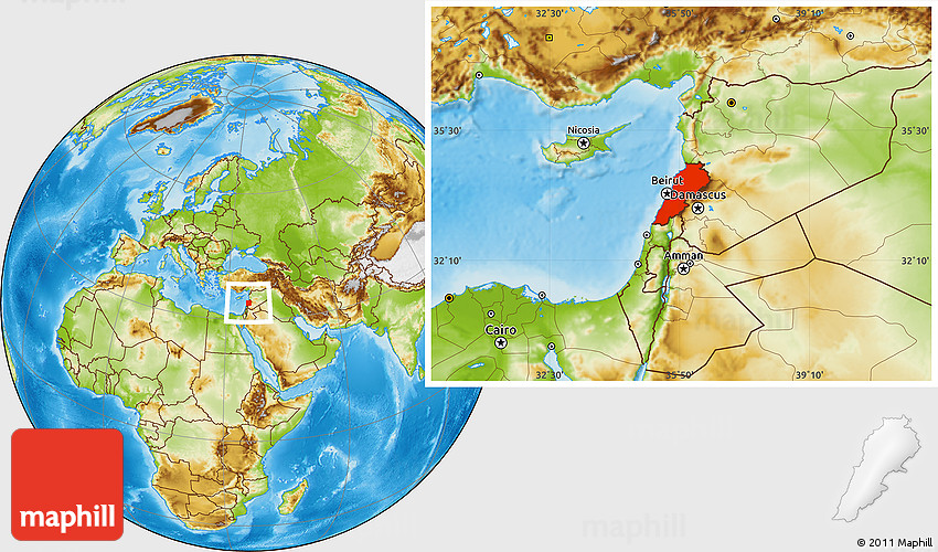 Physical location map of lebanon gumiabroncs Image collections