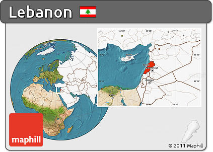 Free satellite location map of lebanon highlighted continent highlighted continent satellite location map of lebanon highlighted continent gumiabroncs Image collections