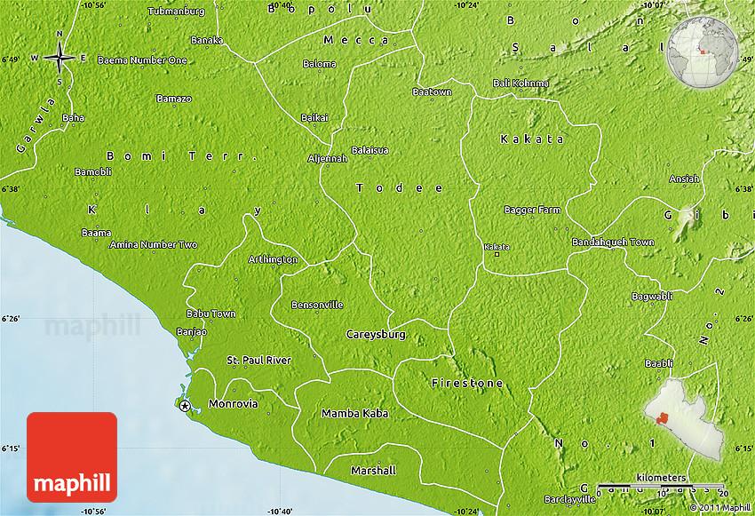 montserrado liberia