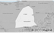 Gray 3D Map of Al Aziziyah