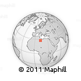 Outline Map of Ash Shati