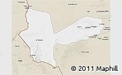 Classic Style 3D Map of Awbari (Ubari)