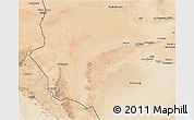 Satellite 3D Map of Awbari (Ubari)