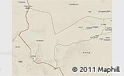 Shaded Relief 3D Map of Awbari (Ubari)