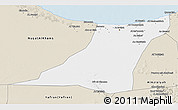 Classic Style 3D Map of Az Zawia (Azzawiya)