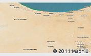 Satellite 3D Map of Az Zawia (Azzawiya)