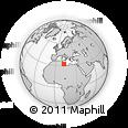 Outline Map of Az Zawia (Azzawiya)