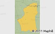 Savanna Style 3D Map of Ghadamis
