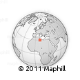 Outline Map of Ghadamis