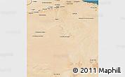 Satellite 3D Map of Gharyan