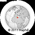 Outline Map of Gharyan