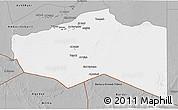 Gray 3D Map of Murzuq