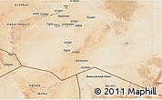 Satellite 3D Map of Murzuq