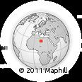 Outline Map of Murzuq