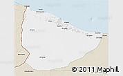 Classic Style 3D Map of Nuqat Al Khams