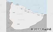 Gray 3D Map of Nuqat Al Khams
