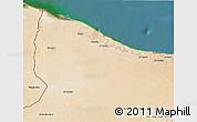 Satellite 3D Map of Nuqat Al Khams