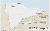 Classic Style 3D Map of Tripoli (Tarabulus)