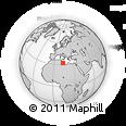 Outline Map of Tripoli (Tarabulus)