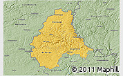Savanna Style 3D Map of Diekirch