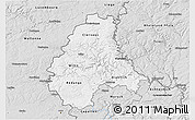 Silver Style 3D Map of Diekirch