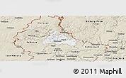 Classic Style Panoramic Map of Diekirch