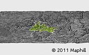 Satellite Panoramic Map of Diekirch, desaturated
