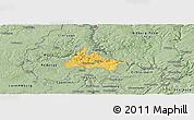 Savanna Style Panoramic Map of Diekirch