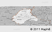Gray Panoramic Map of Diekirch