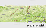 Physical Panoramic Map of Diekirch