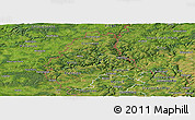 Satellite Panoramic Map of Diekirch