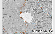 Gray Map of Redange