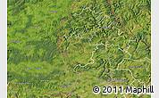 Satellite Map of Redange