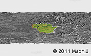 Satellite Panoramic Map of Redange, desaturated