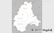 Gray Simple Map of Diekirch