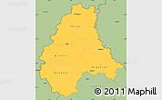 Savanna Style Simple Map of Diekirch