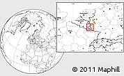 Blank Location Map of Vianden