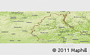 Physical Panoramic Map of Wiltz