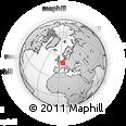 Outline Map of Grevenmacher