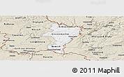 Classic Style Panoramic Map of Grevenmacher
