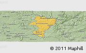 Savanna Style Panoramic Map of Grevenmacher