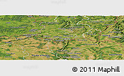 Satellite Panoramic Map of Esch-sur-Alzette