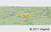Savanna Style Panoramic Map of Esch-sur-Alzette